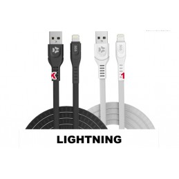 JOIN Cavo Dati Ricarica Usb Lightning 1 MT Black SGS