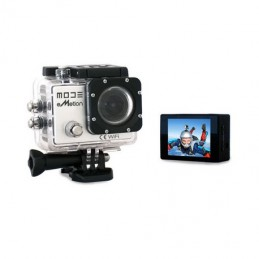 ACTION CAMERA MODE EMOTION WIFI VIDEOCAMERA SPORT 170 FULL HD IMPERMEABILE 30m SCHERMO 2 CAMERA SPORT