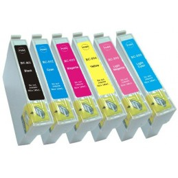 CARTUCCIA COMP. EPSON 805 LIGHT CIANO
