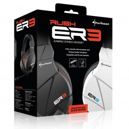 CUFFIA GAMING STEREO HEADSET RUSH ER3 2X 3,5MM PLUG PC/NOTEBOOK