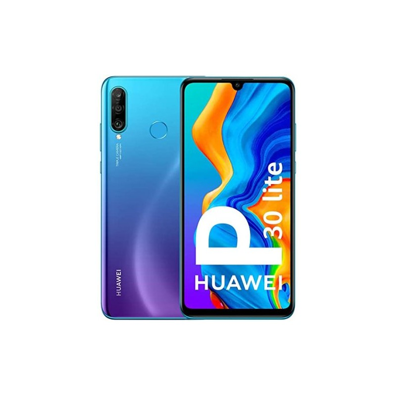 CELLULARE HUAWEI P30 LITE PEACOCK BLUE VODAFONE